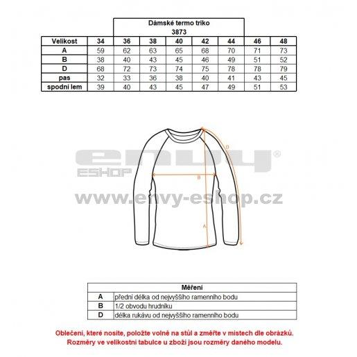 Dámské termo triko s dl.rukávem NORDBLANC AMIRA NBBLD3873 ČERNÁ