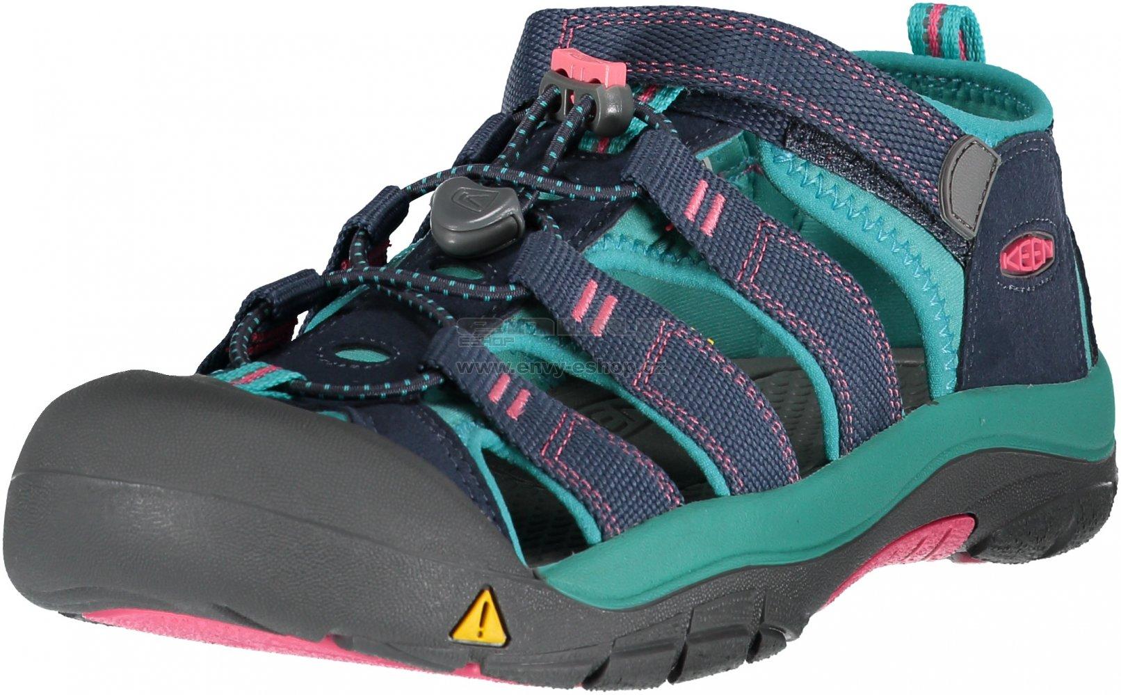 649f76c6fb57 Dětské sandále KEEN NEWPORT H2 JR MIDNIGHT NAVY BALTIC velikost  EU ...