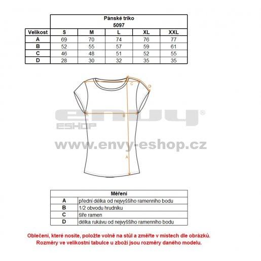Pánské tričko NORDBLANC BOARD NBSMT5097 ČERNÁ
