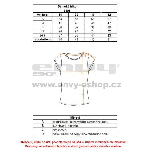 Dámské tričko NORDBLANC FLAMINGO NBSLT5108 BÍLÁ