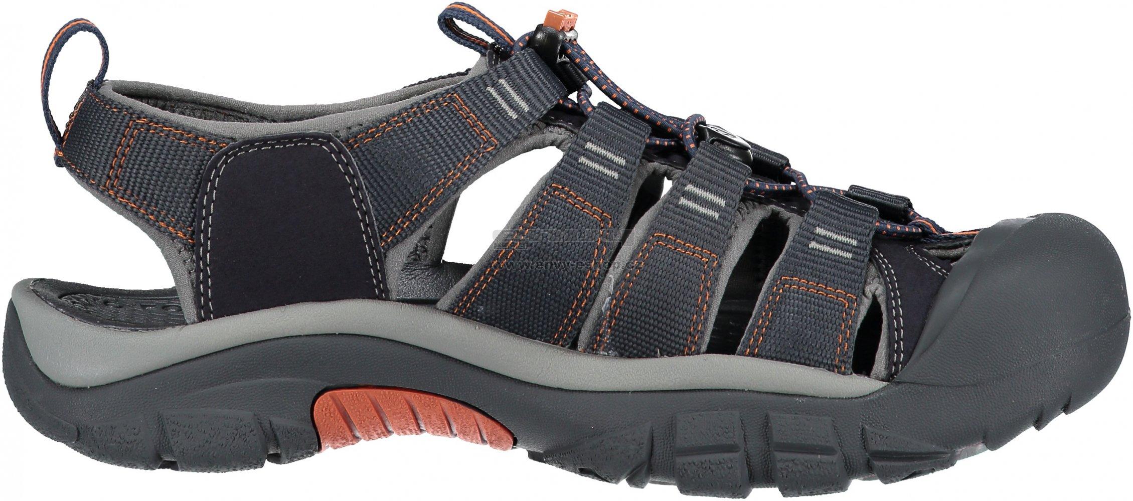 71a0cefa58c6 Pánské sandále KEEN NEWPORT H2 M INDIA INK RUST velikost  47 ( 12 ...