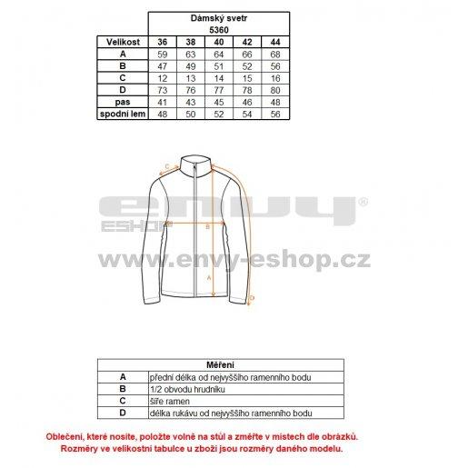 Dámský svetr NORDBLANC WINDWALL NBWFL5360 ČERNÁ