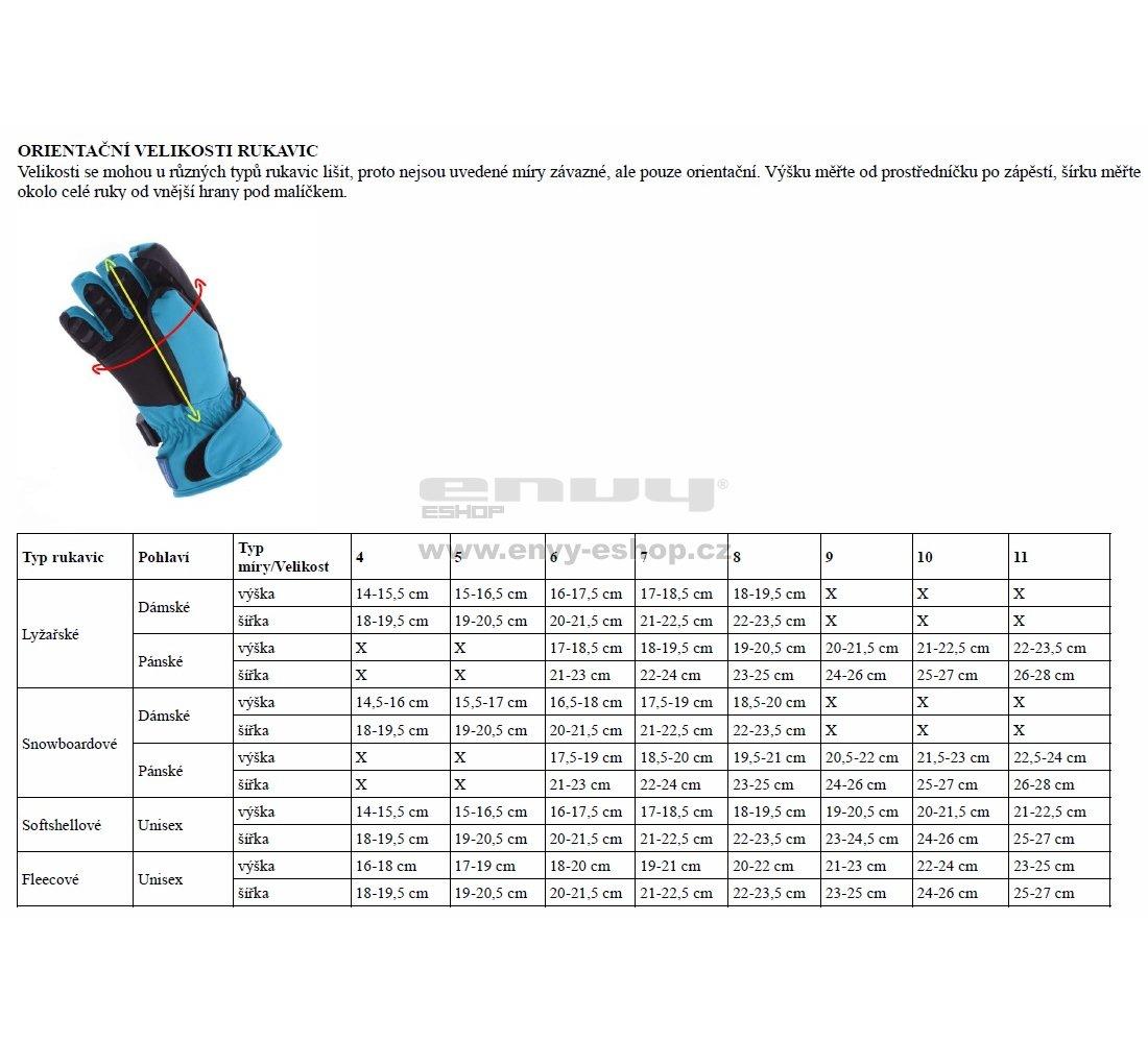 Fleecové rukavice NORDBLANC BRAVERY NBWGF4696 ČERNÁ velikost  10 ... 31f36e25b0