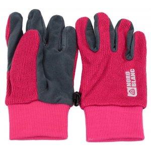 Dámské pletené rukavice NORDBLANC COMET NBWG4725 RŮŽOVÁ