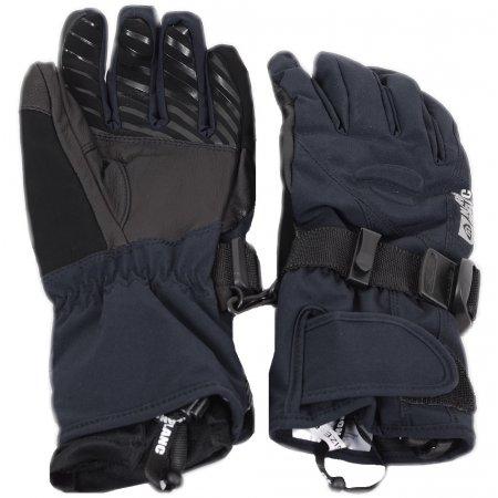 Dámské lyžařské rukavice NORDBLANC STEEP NBWG4730 ČERNÁ