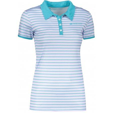 Dámské triko s límečkem ALPINE PRO ULRICO 2 SVĚTLE FIALOVÁ
