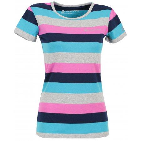 Dámské triko s krátkým rukávem ALPINE PRO PENSIERI RŮŽOVÁ