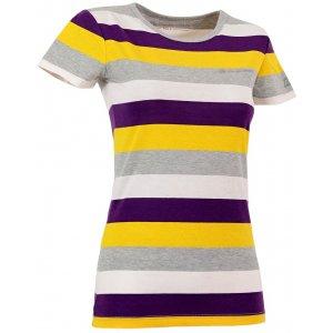 Dámské triko s krátkým rukávem ALPINE PRO PENSIERI SVĚTLE ŽLUTÁ