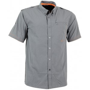 Pánská košile ALPINE PRO  PLOS 2 ŠEDÁ