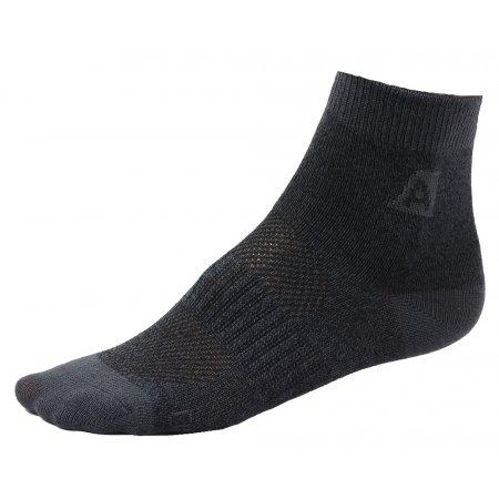 Dětské ponožky ALPINE PRO 3RAPID 3 páry ČERNÁ