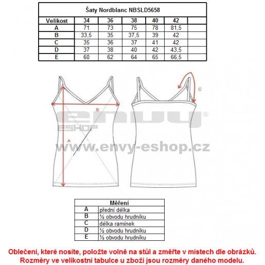 Dámské šaty NORDBLANC RESORT NBSLD5658 PISTÁCIOVÁ