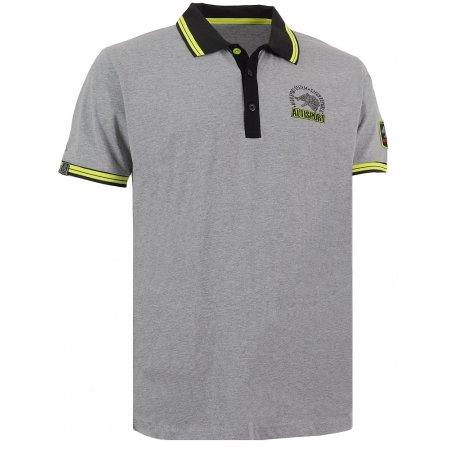 Pánské triko s límečkem ALTISPORT ARMAN ALMS16031 MELÍR