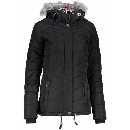 Dámská zimní bunda ALPINE PRO ICYBA 2 ČERNÁ