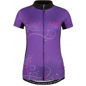 Dámský cyklistický dres KILPI VELOCITY FIALOVÁ