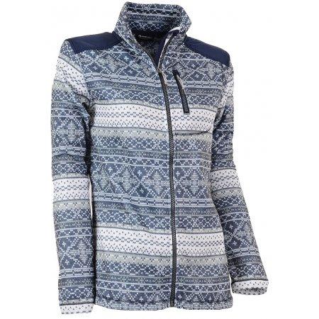 Dámský svetr ALPINE PRO NORGIA SVĚTLE ŠEDÁ