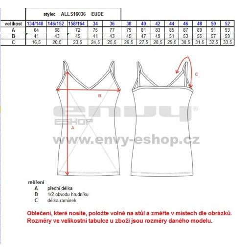 Dámské šaty ALTISPORT EUDE ALLS16036 MELÍR