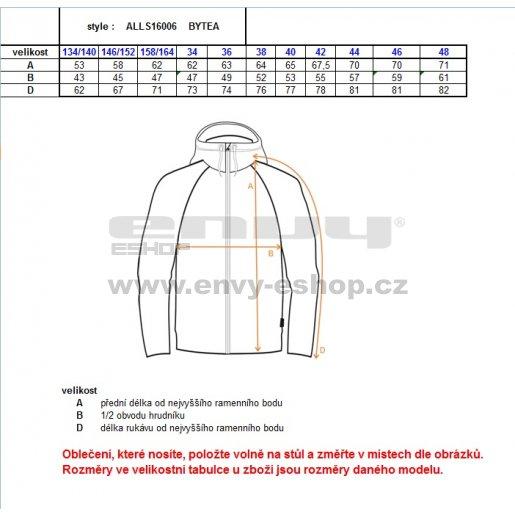 Dívčí softshellová bunda ALTISPORT BYTEA-J ALJS16006 RŮŽOVÁ