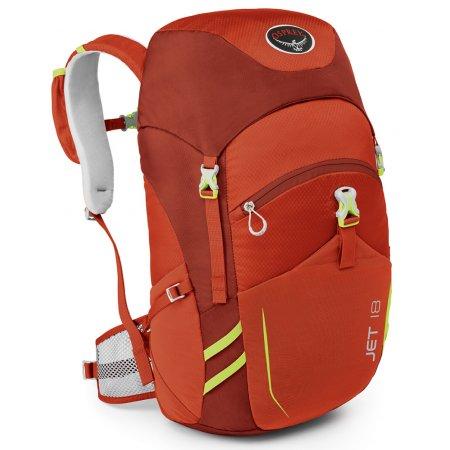 Dětský turistický batoh OSPREY JET 18 STRAWBERRY RED