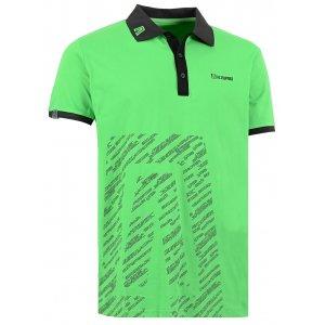 Pánské triko s límečkem ALTISPORT GUSTAVE ALMS16033 ZELENÁ