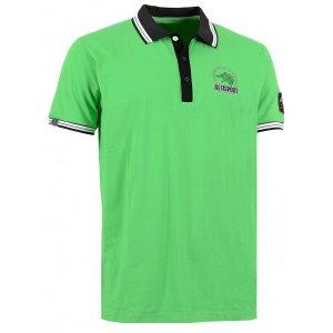 Pánské triko s límečkem ALTISPORT ARMAN ALMS16031 ZELENÁ