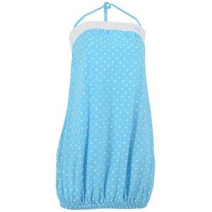 Dámské šaty ALTISPORT MATY ALLS16035 SVĚTLE MODRÁ