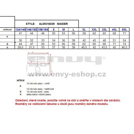 Dětské šortky ALTISPORT MAIDER-J ALJS16029 ŽLUTÁ