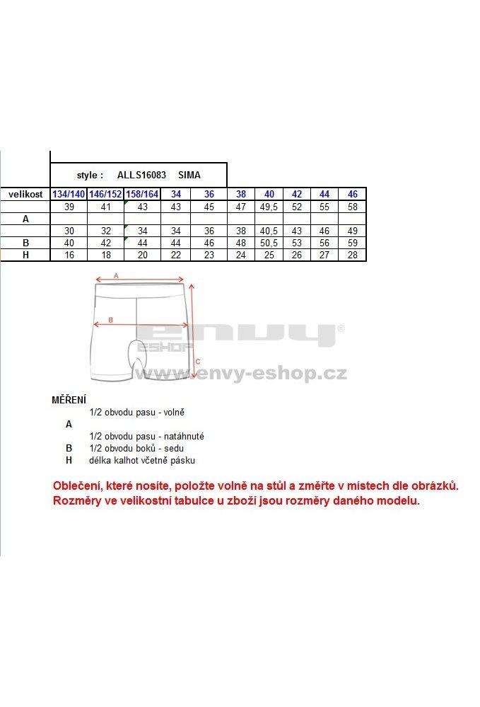 c449260b558 Dámské šortky ALTISPORT SIMA ALLS16083 MELÍR velikost  40   ENVY ...
