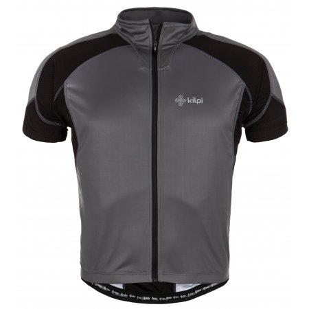 Pánský cyklistický dres KILPI FLASH ČERNÁ