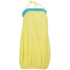 Dámské šaty ALTISPORT MATY ALLS16035 ŽLUTÁ