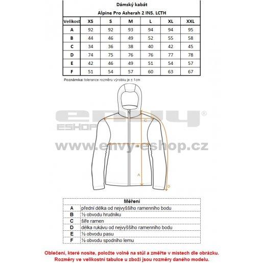 Dámský softshellový kabát ALPINE PRO ASHERAH 2 INS. ČERNÁ OLIVA