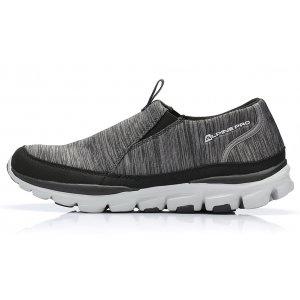 Pánská outdoorová obuv ALPINE PRO MORRISON ŠEDÁ