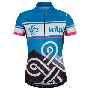 Dámský cyklistický dres KILPI SEPTIMA MODRÁ