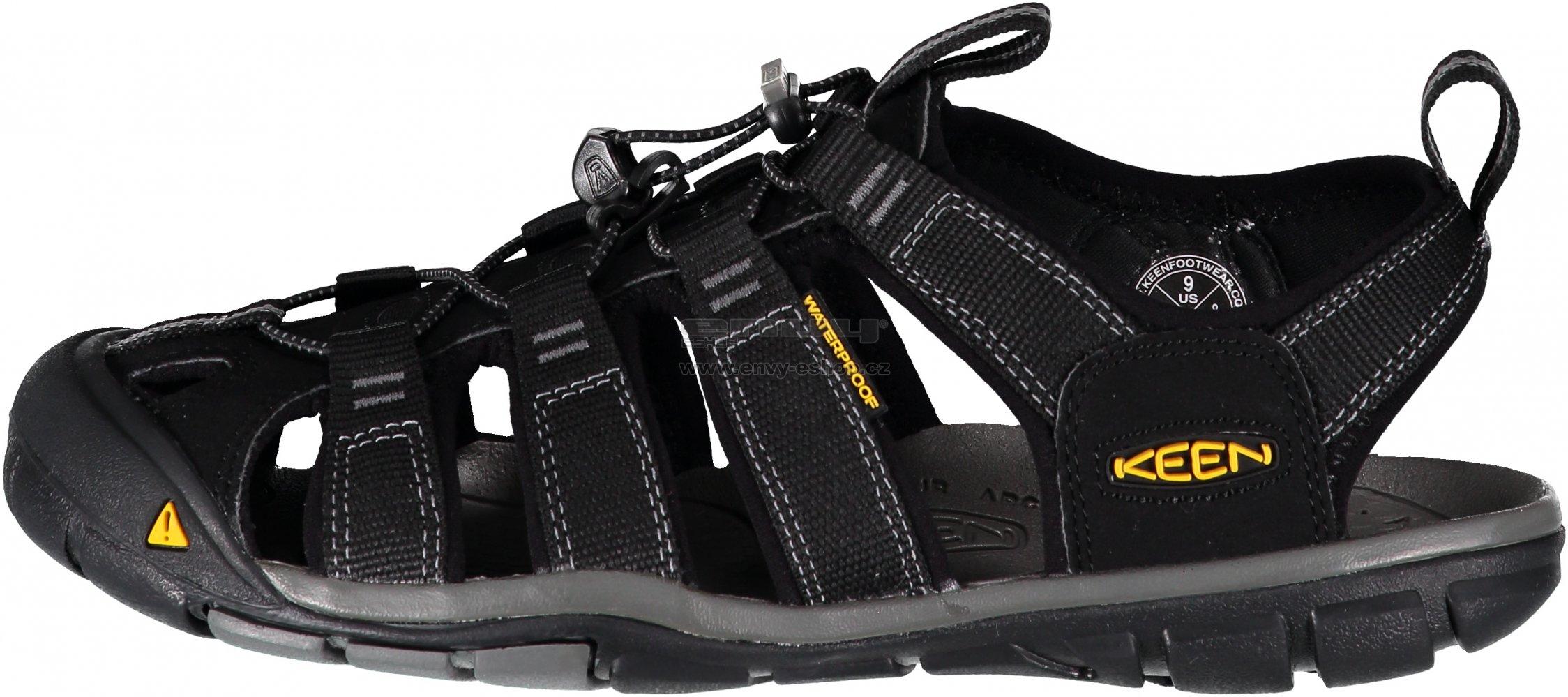 8e36f7219038 Pánské sandále KEEN CLEARWATER CNX M BLACK GARGOYLE velikost  44 ( 9 ...