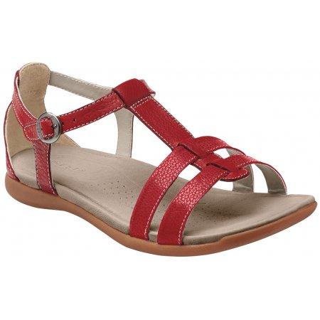Dámské sandále KEEN ROSE CITY T-STRAP W RED DAHLIA