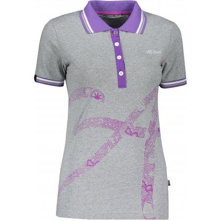 Dámské triko s límečkem ALTISPORT ARMANA MELÍR