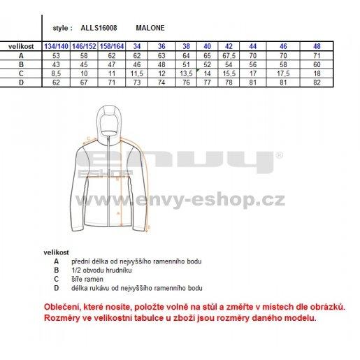 Dívčí softshellová bunda ALTISPORT MALONE-J ALJS16008 RŮŽOVÁ