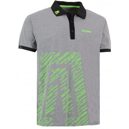 Pánské triko s límečkem ALTISPORT GUSTAVE ALMS16033 MELÍR