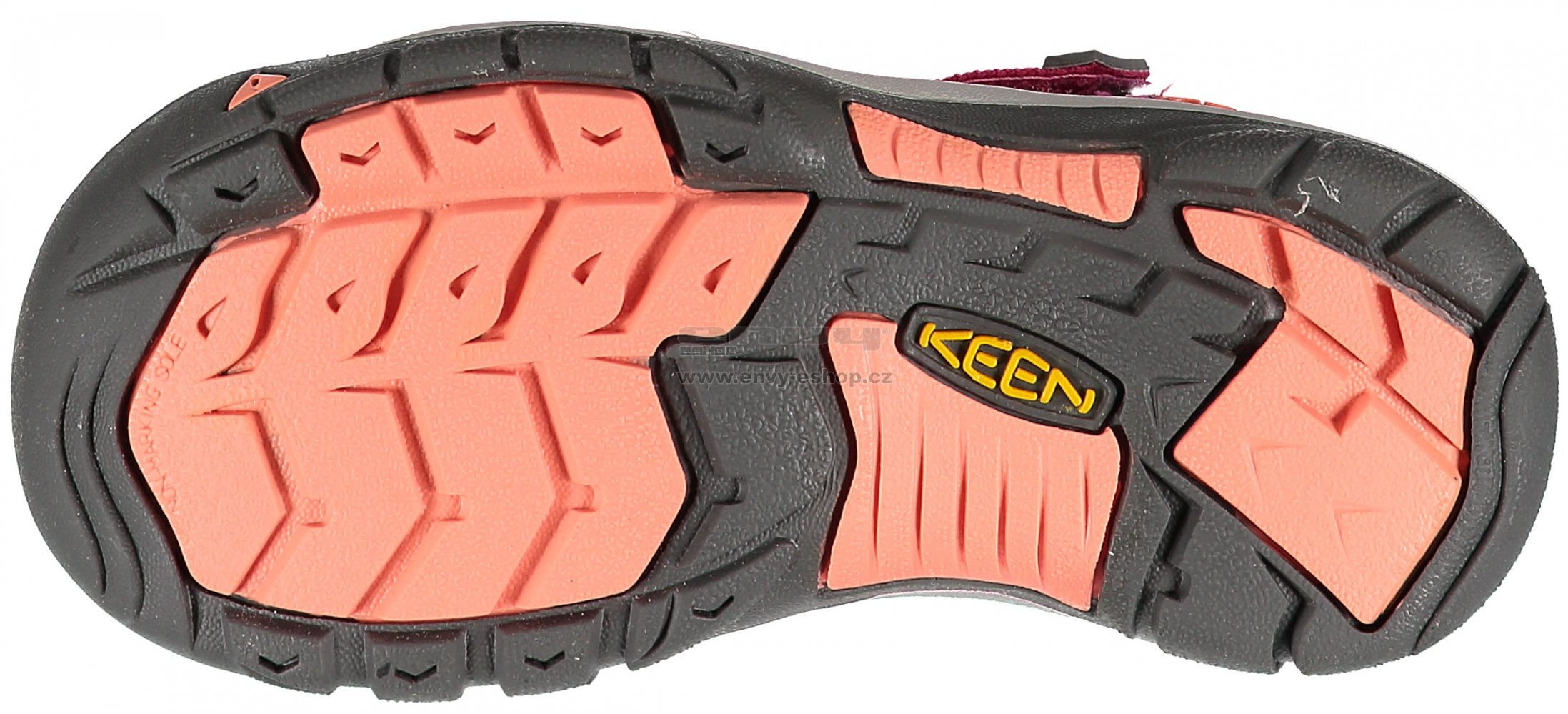 Dětské sandále KEEN NEWPORT H2 JR VERY BERRY FUSION CORAL velikost ... 7904ffc8a0c