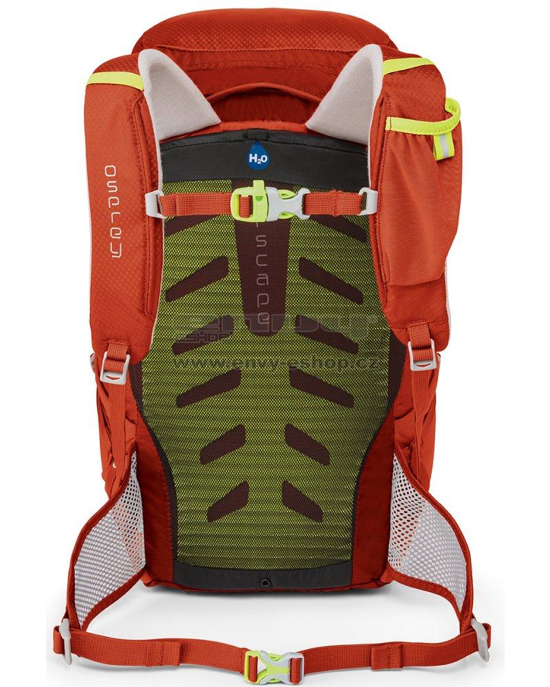 cfdb0a4d06 Dětský turistický batoh OSPREY JET 18 STRAWBERRY RED velikost  18 l ...
