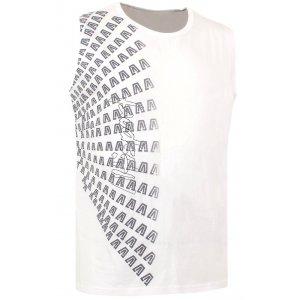 Chlapecké triko bez rukávu ALTISPORT JUNIPER-J BÍLÁ