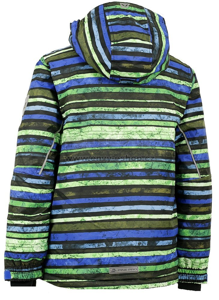 29964a1023b Dětská zimní bunda ALPINE PRO MURDO ČERNÁ velikost  104-110   ENVY ...