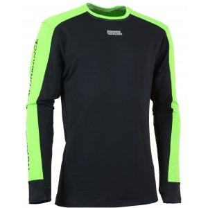 Pánské tričko s dlouhým rukávem NORDBLANC SLING NBFMF5893 ČERNÁ