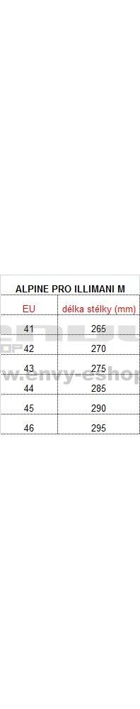 49193efe64c Pánská kožená obuv ALPINE PRO ILLIMANI HNĚDÁ velikost  41 ( 7