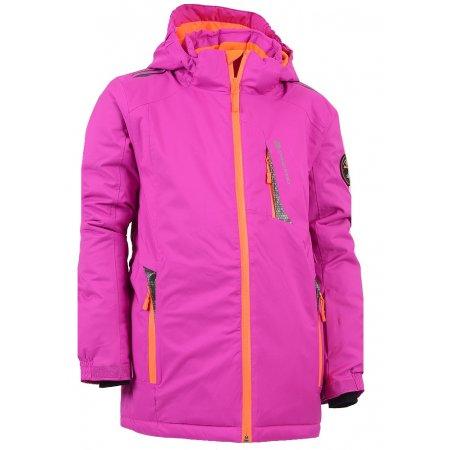Dětská zimní bunda ALPINE PRO GILLETTO RŮŽOVÁ