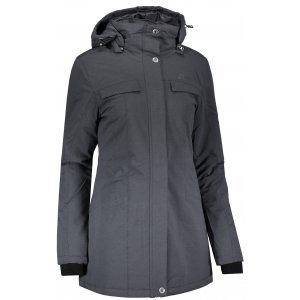 Dámský krátký kabát ALPINE PRO BAJITA ČERNÁ