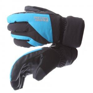 Pánské lyžařské rukavice NORDBLANC LORDLY NBWG5978 AZUROVĚ MODRÁ