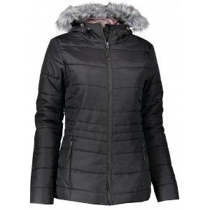 Dámská zimní bunda ALPINE PRO ELIMITA ČERNÁ