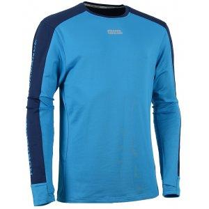 Pánské tričko nordic s dlouhým rukávem NORDBLANC SLING NBFMF5893 AZUROVĚ MODRÁ