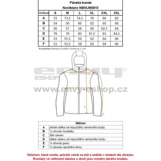 Pánská zimní bunda NORDBLANC PRIMA NBWJM5810 AZUROVĚ MODRÁ