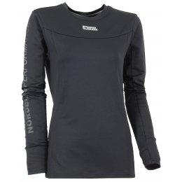 Dámské tričko nordic s dlouhým rukávem NORDBLANC LOVABLE NBFLF5892 ČERNÁ